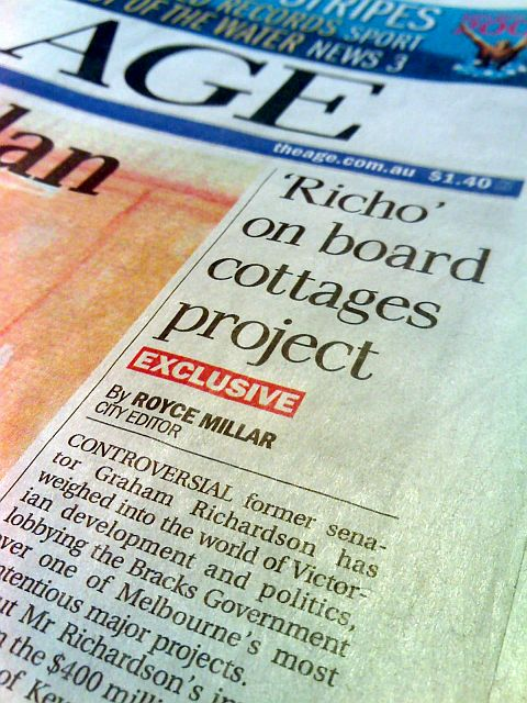 'Richo' on board cottages                                     project